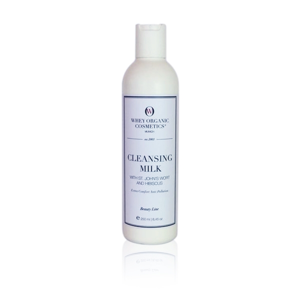Cleansing Milk with St. John's Wort and Hibiscus + Extra Comfort Anti-Pollution