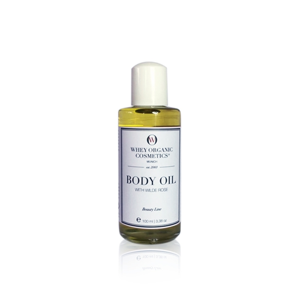 Body Oil with Wild Rose